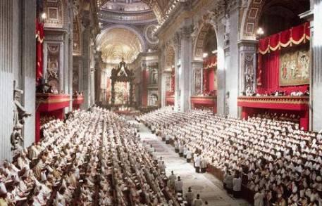 Il Concilio Vaticano II. Basilica di San Pietro, 1962