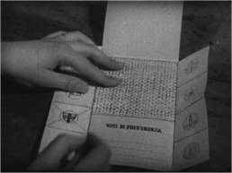 Come si vota, 1953, fotogramma