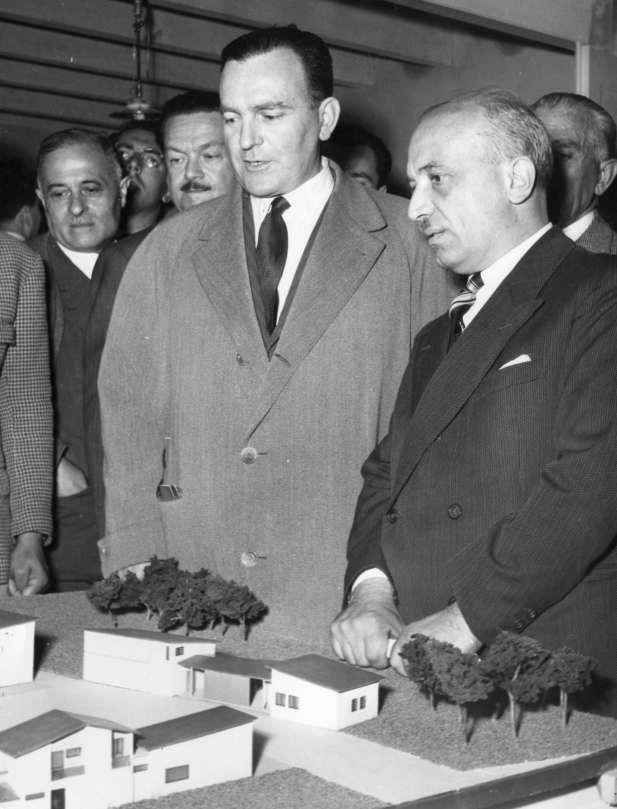 Inaugurazione della Fiera di Bologna, 8 maggio 1953
