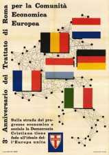 3° anniversario dei Trattati di Roma per la Comunità economica europea, 1960